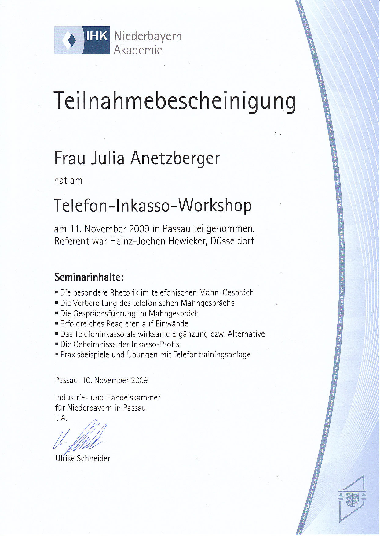Großzügig Weiterbildung Zertifikat Vorlage Bilder - Entry Level ...