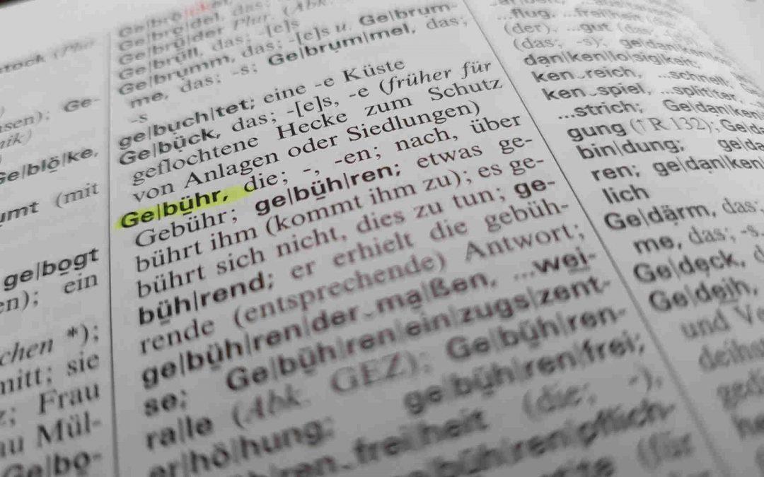 IGP Inkasso Inkassogebühren Wörterbuch
